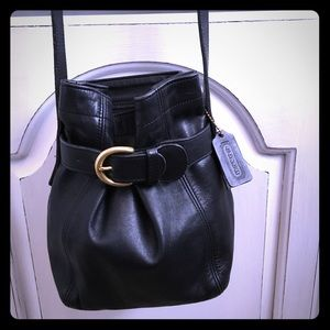VINTAGE COACH MINI BUCKET BAG